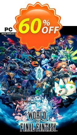 World of Final Fantasy PC Coupon discount World of Final Fantasy PC Deal 2021 CDkeys - World of Final Fantasy PC Exclusive Sale offer for iVoicesoft