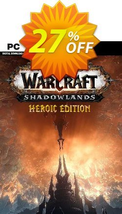 World Of Warcraft: Shadowlands Heroic Edition PC - US  Coupon discount World Of Warcraft: Shadowlands Heroic Edition PC (US) Deal 2021 CDkeys - World Of Warcraft: Shadowlands Heroic Edition PC (US) Exclusive Sale offer for iVoicesoft