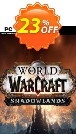 World Of Warcraft: Shadowlands PC - EU  Coupon discount World Of Warcraft: Shadowlands PC (EU) Deal 2021 CDkeys - World Of Warcraft: Shadowlands PC (EU) Exclusive Sale offer for iVoicesoft