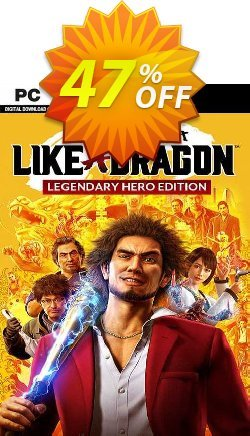Yakuza: Like a Dragon Legendary Hero Edition PC - EU  Coupon discount Yakuza: Like a Dragon Legendary Hero Edition PC (EU) Deal 2021 CDkeys - Yakuza: Like a Dragon Legendary Hero Edition PC (EU) Exclusive Sale offer for iVoicesoft