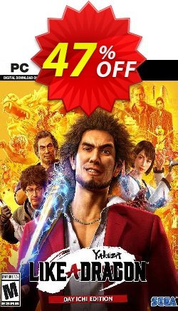 Yakuza: Like a Dragon Day Ichi Edition PC - EU  Coupon discount Yakuza: Like a Dragon Day Ichi Edition PC (EU) Deal 2021 CDkeys - Yakuza: Like a Dragon Day Ichi Edition PC (EU) Exclusive Sale offer for iVoicesoft