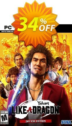 Yakuza: Like a Dragon Day Ichi Edition PC - WW  Coupon discount Yakuza: Like a Dragon Day Ichi Edition PC (WW) Deal 2021 CDkeys - Yakuza: Like a Dragon Day Ichi Edition PC (WW) Exclusive Sale offer for iVoicesoft