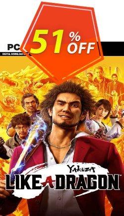 Yakuza: Like a Dragon PC - EU  Coupon discount Yakuza: Like a Dragon PC (EU) Deal 2021 CDkeys - Yakuza: Like a Dragon PC (EU) Exclusive Sale offer for iVoicesoft