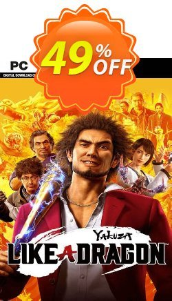 Yakuza: Like a Dragon PC - WW  Coupon discount Yakuza: Like a Dragon PC (WW) Deal 2021 CDkeys - Yakuza: Like a Dragon PC (WW) Exclusive Sale offer for iVoicesoft