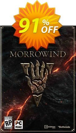 The Elder Scrolls Online - Morrowind PC + DLC - inc base game  Coupon, discount The Elder Scrolls Online - Morrowind PC + DLC (inc base game) Deal. Promotion: The Elder Scrolls Online - Morrowind PC + DLC (inc base game) Exclusive offer for iVoicesoft