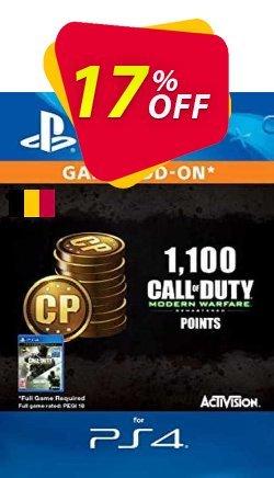 Call of Duty Modern Warfare - 1100 Points PS4 - Belgium  Coupon discount Call of Duty Modern Warfare - 1100 Points PS4 (Belgium) Deal 2021 CDkeys - Call of Duty Modern Warfare - 1100 Points PS4 (Belgium) Exclusive Sale offer for iVoicesoft