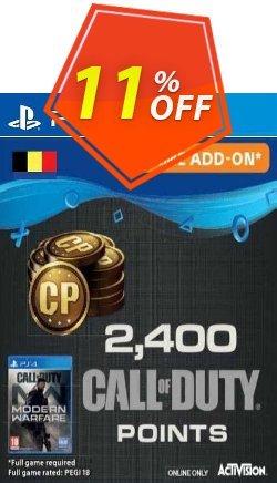 Call of Duty Modern Warfare 2400 Points PS4 - Belgium  Coupon discount Call of Duty Modern Warfare 2400 Points PS4 (Belgium) Deal 2021 CDkeys - Call of Duty Modern Warfare 2400 Points PS4 (Belgium) Exclusive Sale offer for iVoicesoft