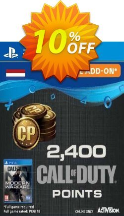 Call of Duty Modern Warfare 2400 Points PS4 - Netherlands  Coupon discount Call of Duty Modern Warfare 2400 Points PS4 (Netherlands) Deal 2021 CDkeys - Call of Duty Modern Warfare 2400 Points PS4 (Netherlands) Exclusive Sale offer for iVoicesoft