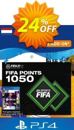 FIFA 21 Ultimate Team 1050 Points Pack PS4/PS5 - Netherlands  Coupon discount FIFA 21 Ultimate Team 1050 Points Pack PS4/PS5 (Netherlands) Deal 2021 CDkeys - FIFA 21 Ultimate Team 1050 Points Pack PS4/PS5 (Netherlands) Exclusive Sale offer for iVoicesoft