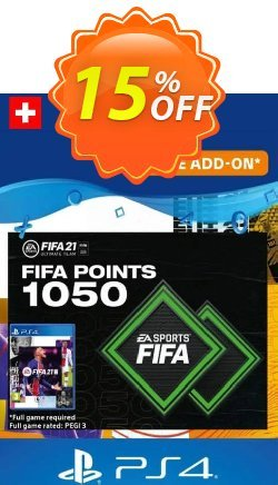 FIFA 21 Ultimate Team 1050 Points Pack PS4/PS5 - Switzerland  Coupon discount FIFA 21 Ultimate Team 1050 Points Pack PS4/PS5 (Switzerland) Deal 2021 CDkeys - FIFA 21 Ultimate Team 1050 Points Pack PS4/PS5 (Switzerland) Exclusive Sale offer for iVoicesoft