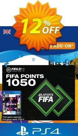 FIFA 21 Ultimate Team 1050 Points Pack PS4/PS5 - UK  Coupon discount FIFA 21 Ultimate Team 1050 Points Pack PS4/PS5 (UK) Deal 2021 CDkeys - FIFA 21 Ultimate Team 1050 Points Pack PS4/PS5 (UK) Exclusive Sale offer for iVoicesoft