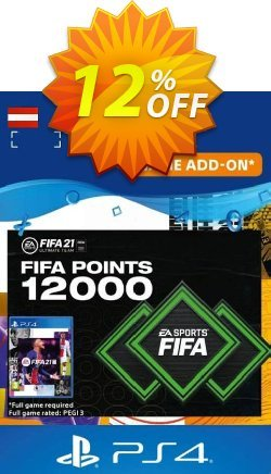 FIFA 21 Ultimate Team 12000 Points Pack PS4/PS5 - Austria  Coupon discount FIFA 21 Ultimate Team 12000 Points Pack PS4/PS5 (Austria) Deal 2021 CDkeys - FIFA 21 Ultimate Team 12000 Points Pack PS4/PS5 (Austria) Exclusive Sale offer for iVoicesoft