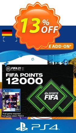 FIFA 21 Ultimate Team 12000 Points Pack PS4/PS5 - Germany  Coupon discount FIFA 21 Ultimate Team 12000 Points Pack PS4/PS5 (Germany) Deal 2021 CDkeys - FIFA 21 Ultimate Team 12000 Points Pack PS4/PS5 (Germany) Exclusive Sale offer for iVoicesoft
