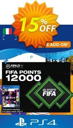 FIFA 21 Ultimate Team 12000 Points Pack PS4/PS5 - Italy  Coupon discount FIFA 21 Ultimate Team 12000 Points Pack PS4/PS5 (Italy) Deal 2021 CDkeys - FIFA 21 Ultimate Team 12000 Points Pack PS4/PS5 (Italy) Exclusive Sale offer for iVoicesoft
