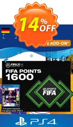 FIFA 21 Ultimate Team 1600 Points Pack PS4/PS5 - Germany  Coupon discount FIFA 21 Ultimate Team 1600 Points Pack PS4/PS5 (Germany) Deal 2021 CDkeys - FIFA 21 Ultimate Team 1600 Points Pack PS4/PS5 (Germany) Exclusive Sale offer for iVoicesoft