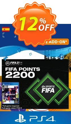 FIFA 21 Ultimate Team 2200 Points Pack PS4/PS5 - Spain  Coupon discount FIFA 21 Ultimate Team 2200 Points Pack PS4/PS5 (Spain) Deal 2021 CDkeys - FIFA 21 Ultimate Team 2200 Points Pack PS4/PS5 (Spain) Exclusive Sale offer for iVoicesoft
