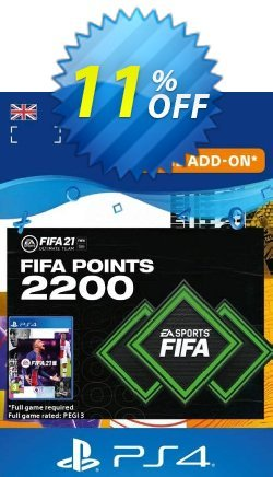 FIFA 21 Ultimate Team 2200 Points Pack PS4/PS5 - UK  Coupon discount FIFA 21 Ultimate Team 2200 Points Pack PS4/PS5 (UK) Deal 2021 CDkeys - FIFA 21 Ultimate Team 2200 Points Pack PS4/PS5 (UK) Exclusive Sale offer for iVoicesoft