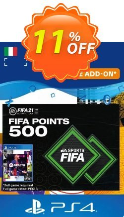 FIFA 21 Ultimate Team 500 Points Pack PS4/PS5 - Italy  Coupon discount FIFA 21 Ultimate Team 500 Points Pack PS4/PS5 (Italy) Deal 2021 CDkeys - FIFA 21 Ultimate Team 500 Points Pack PS4/PS5 (Italy) Exclusive Sale offer for iVoicesoft