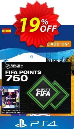 FIFA 21 Ultimate Team 750 Points Pack PS4/PS5 - Spain  Coupon discount FIFA 21 Ultimate Team 750 Points Pack PS4/PS5 (Spain) Deal 2021 CDkeys - FIFA 21 Ultimate Team 750 Points Pack PS4/PS5 (Spain) Exclusive Sale offer for iVoicesoft