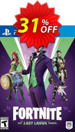 Fortnite: The Last Laugh Bundle PS4 - US  Coupon discount Fortnite: The Last Laugh Bundle PS4 (US) Deal 2021 CDkeys - Fortnite: The Last Laugh Bundle PS4 (US) Exclusive Sale offer for iVoicesoft
