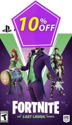 Fortnite: The Last Laugh Bundle PS5 - EU  Coupon discount Fortnite: The Last Laugh Bundle PS5 (EU) Deal 2021 CDkeys - Fortnite: The Last Laugh Bundle PS5 (EU) Exclusive Sale offer for iVoicesoft
