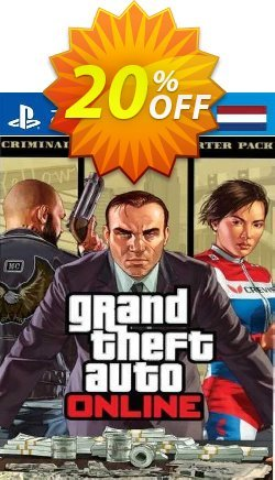 Grand Theft Auto Online - Criminal Enterprise Starter Pack PS4 - Netherlands  Coupon discount Grand Theft Auto Online - Criminal Enterprise Starter Pack PS4 (Netherlands) Deal 2021 CDkeys - Grand Theft Auto Online - Criminal Enterprise Starter Pack PS4 (Netherlands) Exclusive Sale offer for iVoicesoft