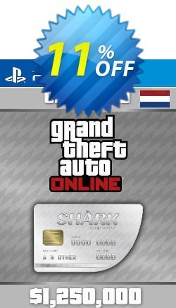 Grand Theft Auto Online Great White Shark Cash Card PS4 - Netherlands  Coupon discount Grand Theft Auto Online Great White Shark Cash Card PS4 (Netherlands) Deal 2021 CDkeys - Grand Theft Auto Online Great White Shark Cash Card PS4 (Netherlands) Exclusive Sale offer for iVoicesoft