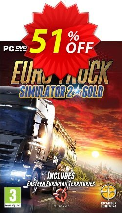 Euro Truck Simulator 2 Gold PC Coupon discount Euro Truck Simulator 2 Gold PC Deal - Euro Truck Simulator 2 Gold PC Exclusive offer for iVoicesoft