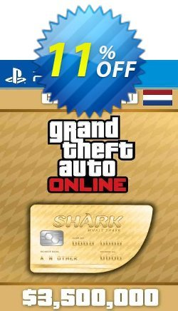 Grand Theft Auto Online Whale Shark Cash Card PS4 - Netherlands  Coupon discount Grand Theft Auto Online Whale Shark Cash Card PS4 (Netherlands) Deal 2021 CDkeys - Grand Theft Auto Online Whale Shark Cash Card PS4 (Netherlands) Exclusive Sale offer for iVoicesoft