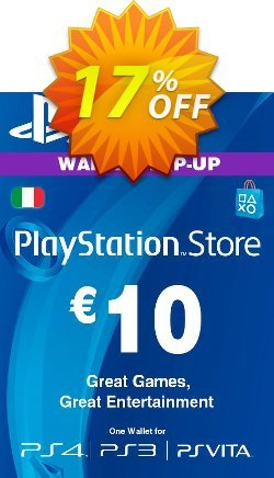 Playstation Network - PSN Card - 10 EUR - Italy  Coupon discount Playstation Network (PSN) Card - 10 EUR (Italy) Deal 2021 CDkeys - Playstation Network (PSN) Card - 10 EUR (Italy) Exclusive Sale offer for iVoicesoft