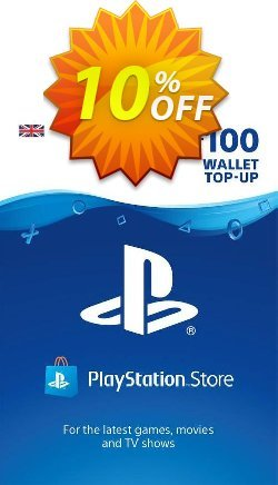 Playstation Network - PSN Card - £100 Coupon discount Playstation Network (PSN) Card - £100 Deal 2021 CDkeys - Playstation Network (PSN) Card - £100 Exclusive Sale offer for iVoicesoft