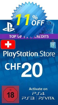 PlayStation Network - PSN Card - 20 CHF - Switzerland  Coupon discount PlayStation Network (PSN) Card - 20 CHF (Switzerland) Deal 2021 CDkeys - PlayStation Network (PSN) Card - 20 CHF (Switzerland) Exclusive Sale offer for iVoicesoft