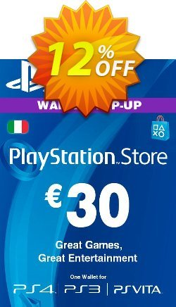Playstation Network - PSN Card - 30 EUR - Italy  Coupon discount Playstation Network (PSN) Card - 30 EUR (Italy) Deal 2021 CDkeys - Playstation Network (PSN) Card - 30 EUR (Italy) Exclusive Sale offer for iVoicesoft