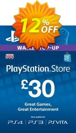 Playstation Network - PSN Card - 30 GBP Coupon discount Playstation Network (PSN) Card - 30 GBP Deal 2021 CDkeys - Playstation Network (PSN) Card - 30 GBP Exclusive Sale offer for iVoicesoft