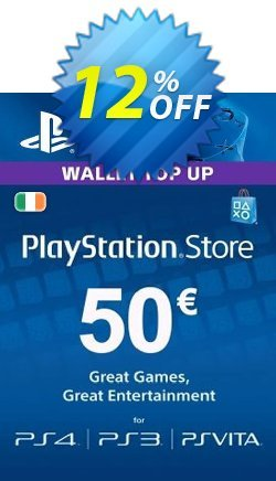 PlayStation Network - PSN Card - 50 EUR - Ireland  Coupon discount PlayStation Network (PSN) Card - 50 EUR (Ireland) Deal 2021 CDkeys - PlayStation Network (PSN) Card - 50 EUR (Ireland) Exclusive Sale offer for iVoicesoft