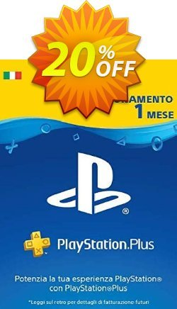 Playstation Plus - 1 Month Subscription - Italy  Coupon discount Playstation Plus - 1 Month Subscription (Italy) Deal 2021 CDkeys - Playstation Plus - 1 Month Subscription (Italy) Exclusive Sale offer for iVoicesoft