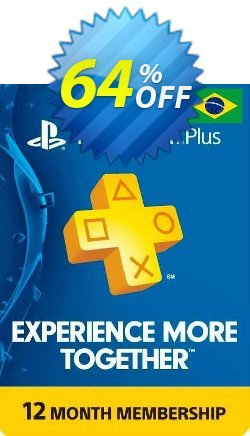 PlayStation Plus - 12 Month Subscription - Brazil  Coupon discount PlayStation Plus - 12 Month Subscription (Brazil) Deal 2021 CDkeys - PlayStation Plus - 12 Month Subscription (Brazil) Exclusive Sale offer for iVoicesoft