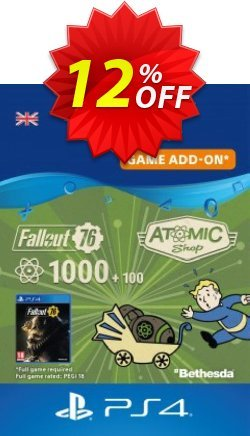 Fallout 76 - 1100 Atoms PS4 Coupon discount Fallout 76 - 1100 Atoms PS4 Deal 2021 CDkeys - Fallout 76 - 1100 Atoms PS4 Exclusive Sale offer for iVoicesoft