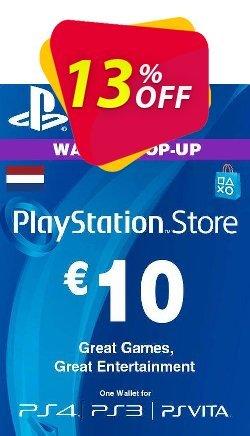 PlayStation Network - PSN Card - 10 EUR - Netherlands  Coupon discount PlayStation Network (PSN) Card - 10 EUR (Netherlands) Deal 2021 CDkeys - PlayStation Network (PSN) Card - 10 EUR (Netherlands) Exclusive Sale offer for iVoicesoft