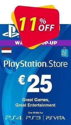 PlayStation Network - PSN Card - 25 EUR - Netherlands  Coupon discount PlayStation Network (PSN) Card - 25 EUR (Netherlands) Deal 2021 CDkeys - PlayStation Network (PSN) Card - 25 EUR (Netherlands) Exclusive Sale offer for iVoicesoft