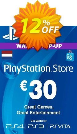 PlayStation Network - PSN Card - 30 EUR - Netherlands  Coupon discount PlayStation Network (PSN) Card - 30 EUR (Netherlands) Deal 2021 CDkeys - PlayStation Network (PSN) Card - 30 EUR (Netherlands) Exclusive Sale offer for iVoicesoft