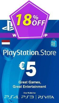 PlayStation Network - PSN Card - 5 EUR - Netherlands  Coupon discount PlayStation Network (PSN) Card - 5 EUR (Netherlands) Deal 2021 CDkeys - PlayStation Network (PSN) Card - 5 EUR (Netherlands) Exclusive Sale offer for iVoicesoft