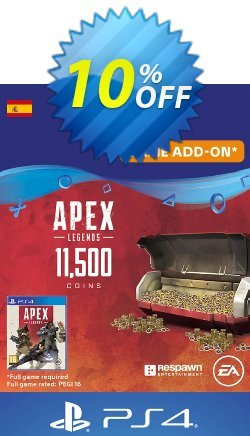 Apex Legends 11500 Coins PS4 - Spain  Coupon discount Apex Legends 11500 Coins PS4 (Spain) Deal 2021 CDkeys - Apex Legends 11500 Coins PS4 (Spain) Exclusive Sale offer for iVoicesoft