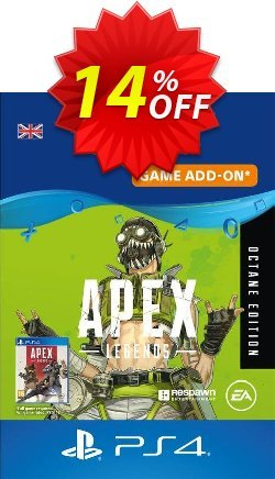 Apex Legends: Octane Edition PS4 UK Coupon discount Apex Legends: Octane Edition PS4 UK Deal 2021 CDkeys - Apex Legends: Octane Edition PS4 UK Exclusive Sale offer for iVoicesoft