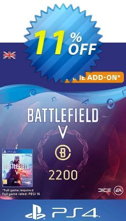 Battlefield V 5 - Battlefield Currency 2200 PS4 - UK  Coupon discount Battlefield V 5 - Battlefield Currency 2200 PS4 (UK) Deal 2021 CDkeys - Battlefield V 5 - Battlefield Currency 2200 PS4 (UK) Exclusive Sale offer for iVoicesoft