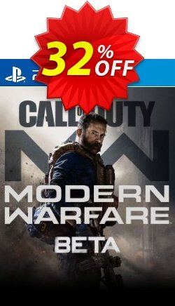 Call of Duty Modern Warfare Beta PS4 Coupon discount Call of Duty Modern Warfare Beta PS4 Deal 2021 CDkeys - Call of Duty Modern Warfare Beta PS4 Exclusive Sale offer for iVoicesoft