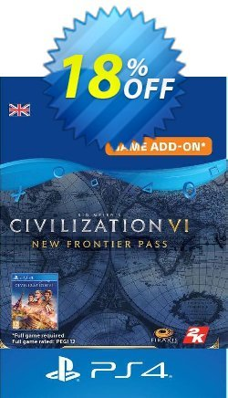 Sid Meier's Civilization VI  - New Frontier Pass PS4 UK Coupon discount Sid Meier's Civilization VI  - New Frontier Pass PS4 UK Deal 2021 CDkeys - Sid Meier's Civilization VI  - New Frontier Pass PS4 UK Exclusive Sale offer for iVoicesoft