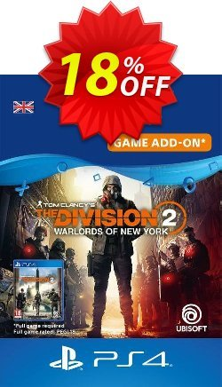 Tom Clancy's The Division 2 - Warlords of New York - Expansion PS4 UK Coupon discount Tom Clancy's The Division 2 - Warlords of New York - Expansion PS4 UK Deal 2021 CDkeys - Tom Clancy's The Division 2 - Warlords of New York - Expansion PS4 UK Exclusive Sale offer for iVoicesoft