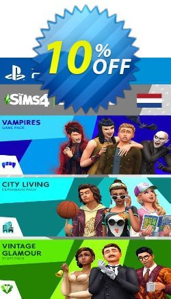 The Sims 4 Bundle - City Living  Vampires  Vintage Stuff Pack PS4 - Netherlands  Coupon discount The Sims 4 Bundle - City Living  Vampires  Vintage Stuff Pack PS4 (Netherlands) Deal 2021 CDkeys - The Sims 4 Bundle - City Living  Vampires  Vintage Stuff Pack PS4 (Netherlands) Exclusive Sale offer for iVoicesoft