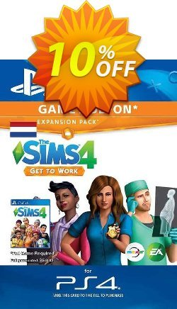 The Sims 4 - Get to Work Expansion Pack PS4 - Netherlands  Coupon discount The Sims 4 - Get to Work Expansion Pack PS4 (Netherlands) Deal 2021 CDkeys - The Sims 4 - Get to Work Expansion Pack PS4 (Netherlands) Exclusive Sale offer for iVoicesoft